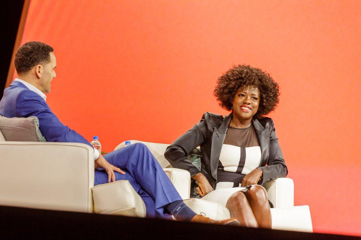 9b97f4686fa9 Black #Cosmopolitan Viola Davis Brings Black Girl Magic; Words of Wisdom to  WorkHuman Conference ...