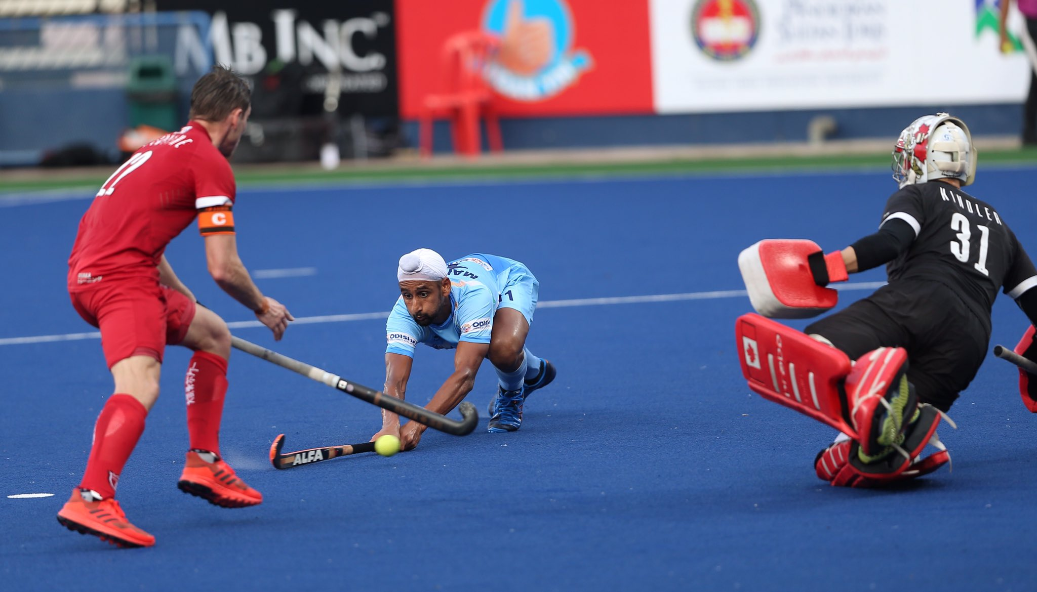 India booked their place in the finals with a win over Canada (Image Credits- Azlan Shah Cup Twitter)
