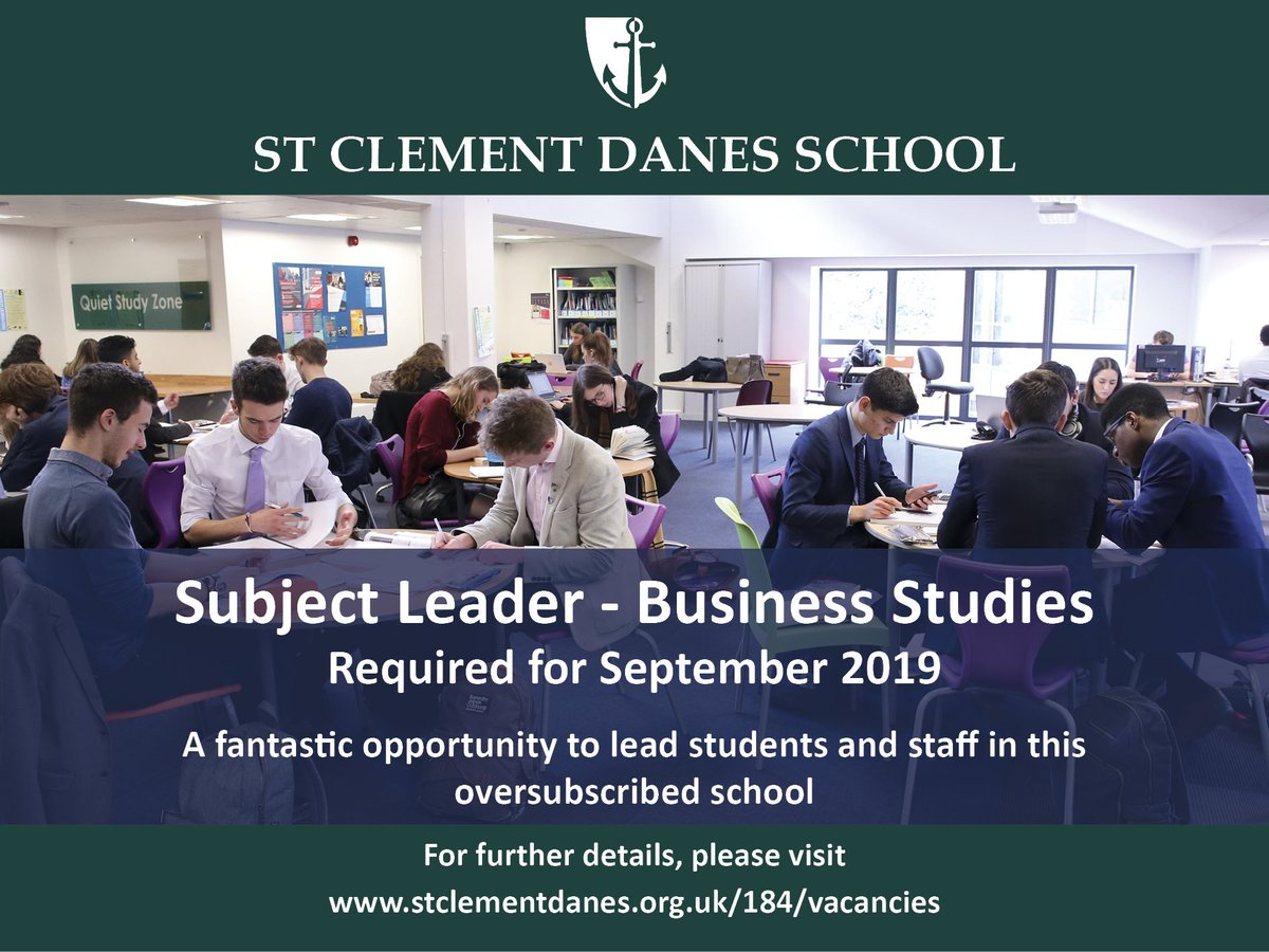 Fantastic opportunity to join our 'World Class' school in this exciting middle leadership role. Closing date 23rd April. #teachingvacancyuk #teachingjobs https://t.co/v9dOlECAQe