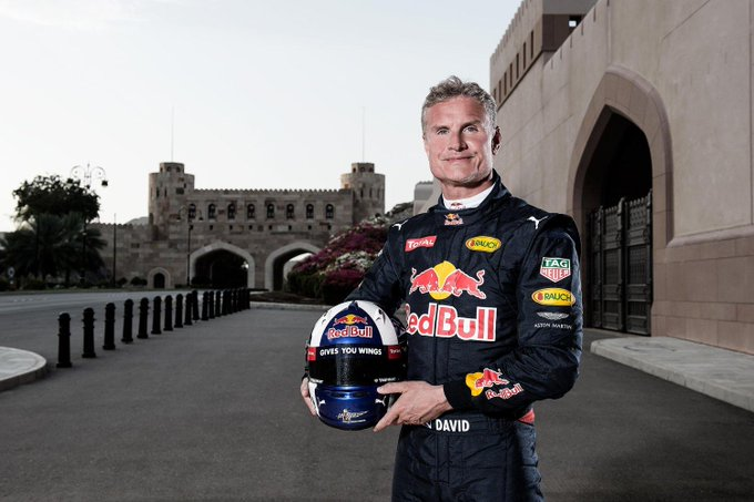 Happy Birthday ! Today David Coulthard meets 48 years