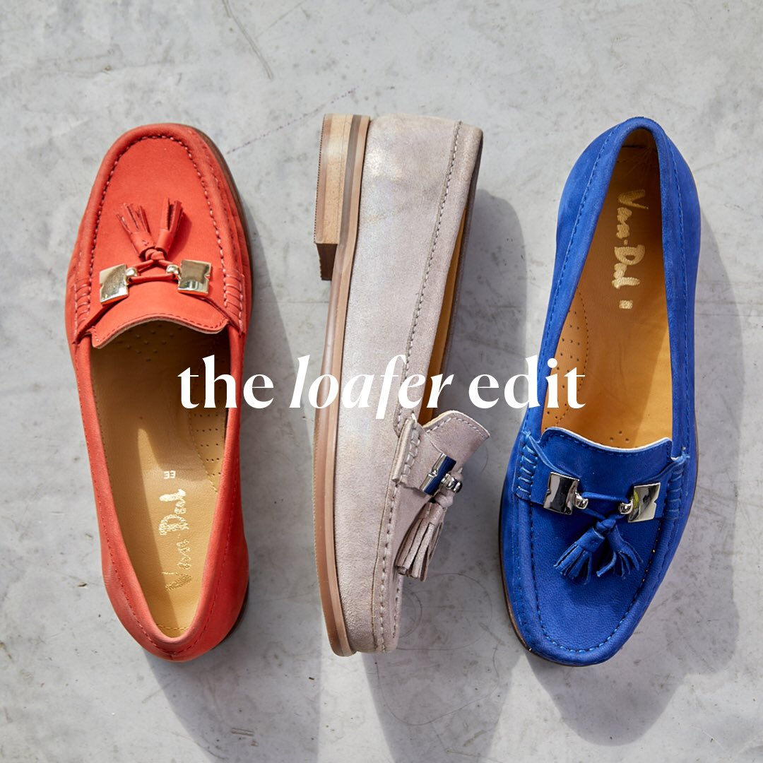 16b9c771fa62 Update your shoe game with these comfy and colourful loafers. Treat  yourself with 20% off all flat shoes. Valid until 29th March  vandalshoes   footwear ...