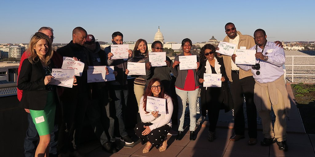 TB Survivors at Capitol Hill in 2019