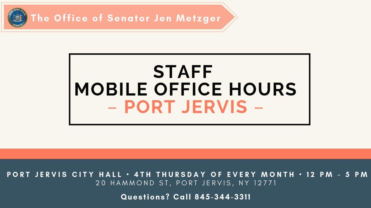 Hashtag #PortJervis di Twitter