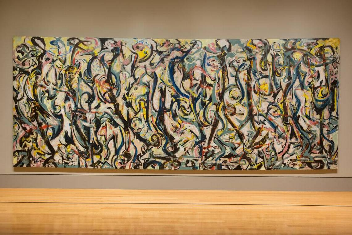 Jackson Pollock is at the Columbia Museum of Art! Don't miss seeing this #amazing piece of #artwork!  (803)779-5171 http://www.capitolplaces.com  . . . . #capitolplaces #columbia #jacksonpollock #columbiamuseumofart #downtown #colasc #sodacity #mainstreetliving #apartmentlife