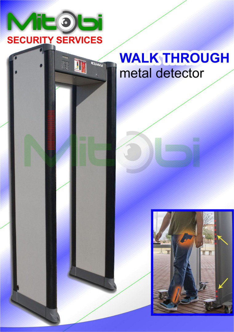 We deal with everything security at @LimitedMitobi Walk Through Metal #Security Detector available. mitobiltd.com Contact: 08033133950, 08033414280 #metaldetector #security #mitobiltd #safety #technology #securitytrends #solutionwithoutstring