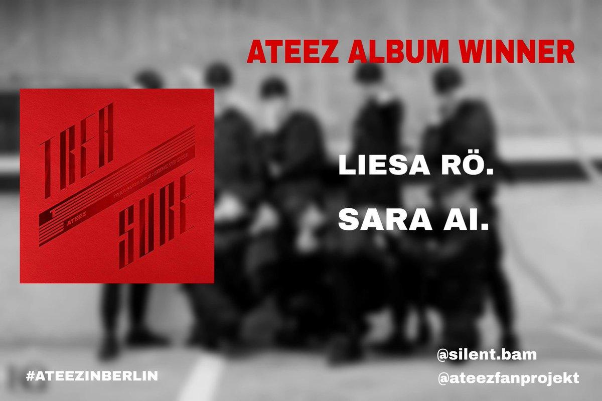 ateezfanprojekt Glückwunsch 🎉 Congratulations 🎉 #Ateez