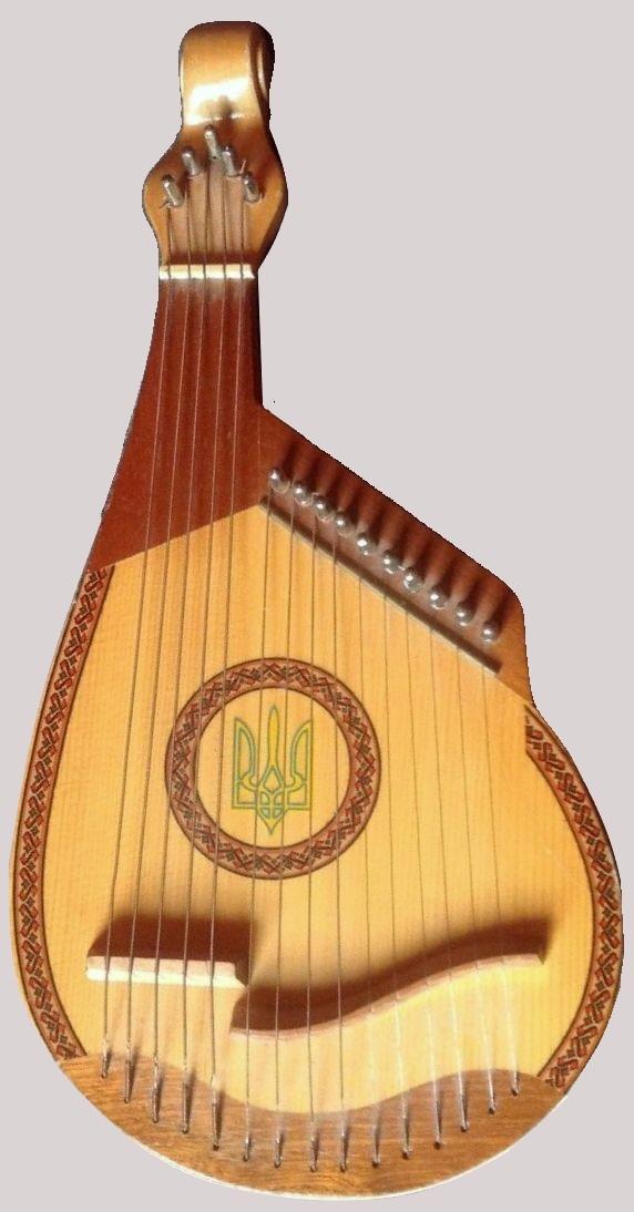 Starosvitska (Ukrainian Folk) Bandura