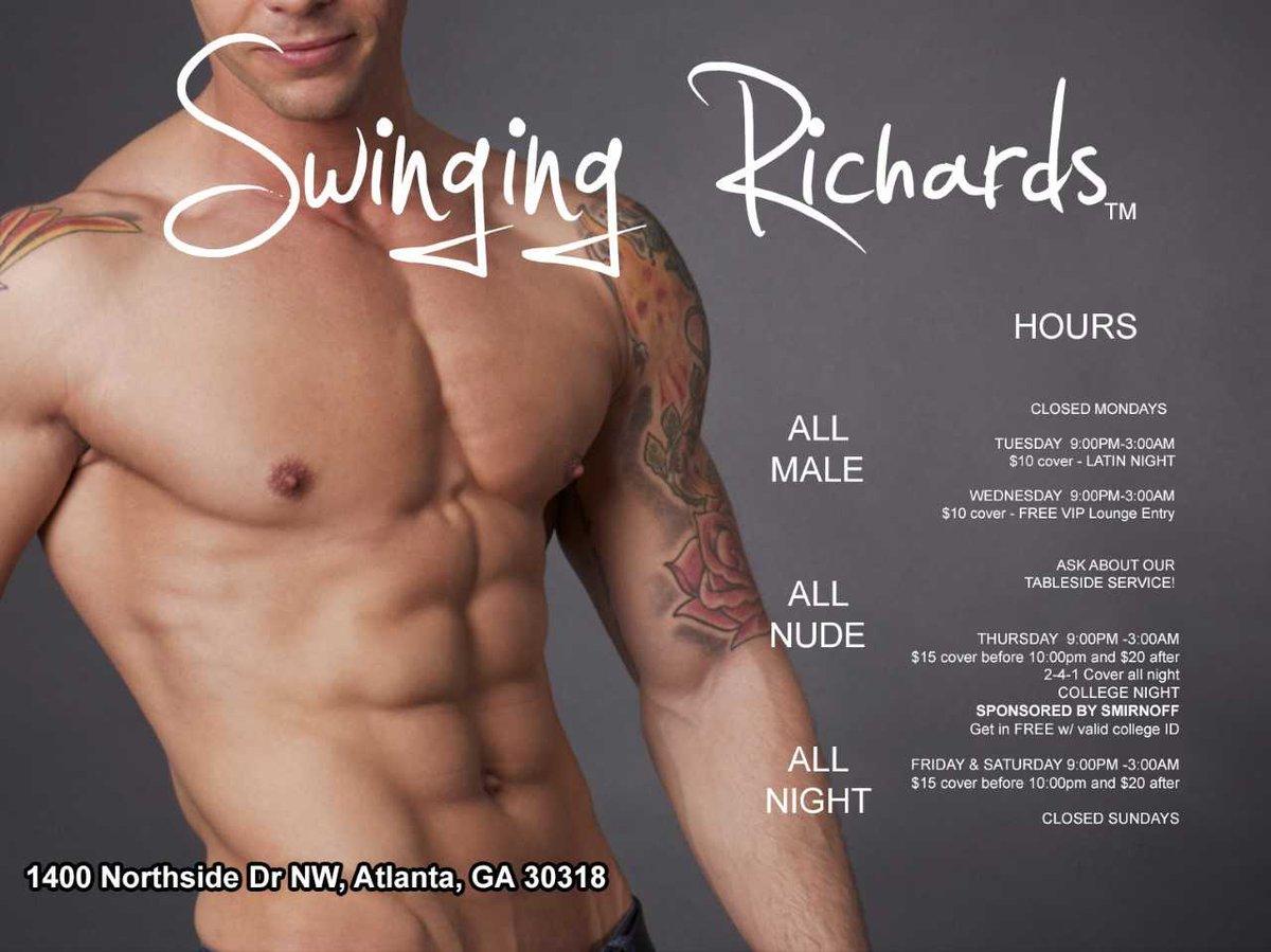 What swinging richards atlanta dancers new