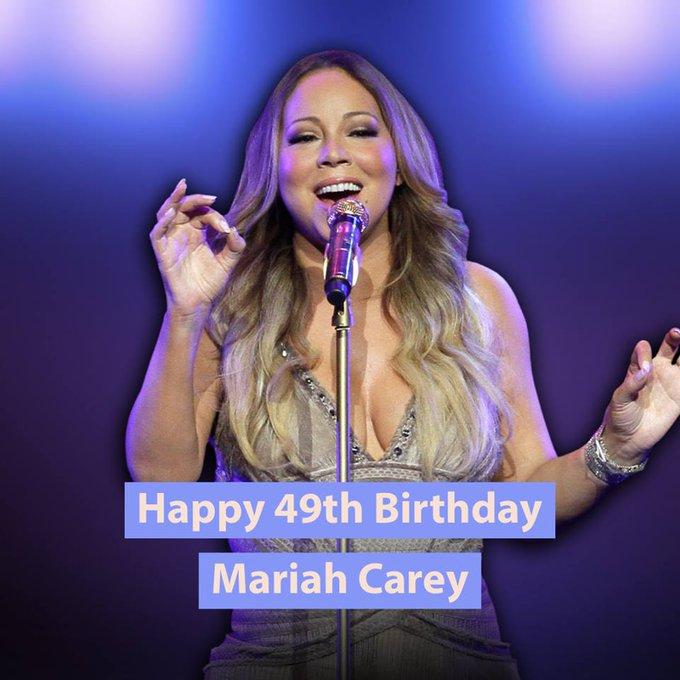HAPPY BIRTHDAY! Mariah Carey turns 49 today!