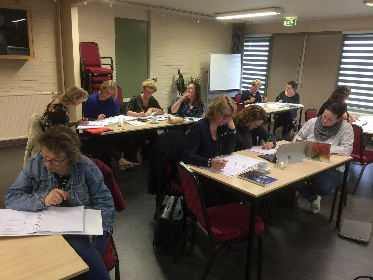 Grote betrokkenheid van leerkrachten van Wolderwijs Ruinerwold bij cursus Systeemdenken in de klas. Prachtige voorbeelden.