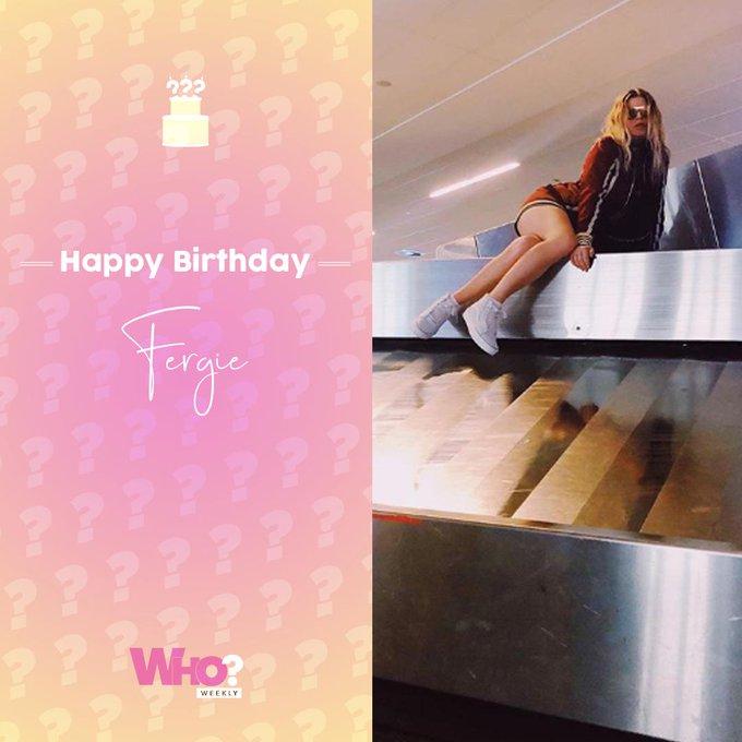 Happy birthday, Fergie!