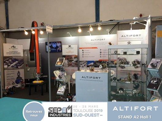 Altifort est au salon @sepemindustries de #Toulouse jusqu'à demain.  Venez-nous rencontrer sur notre stand A2 Hall 1! #industrie