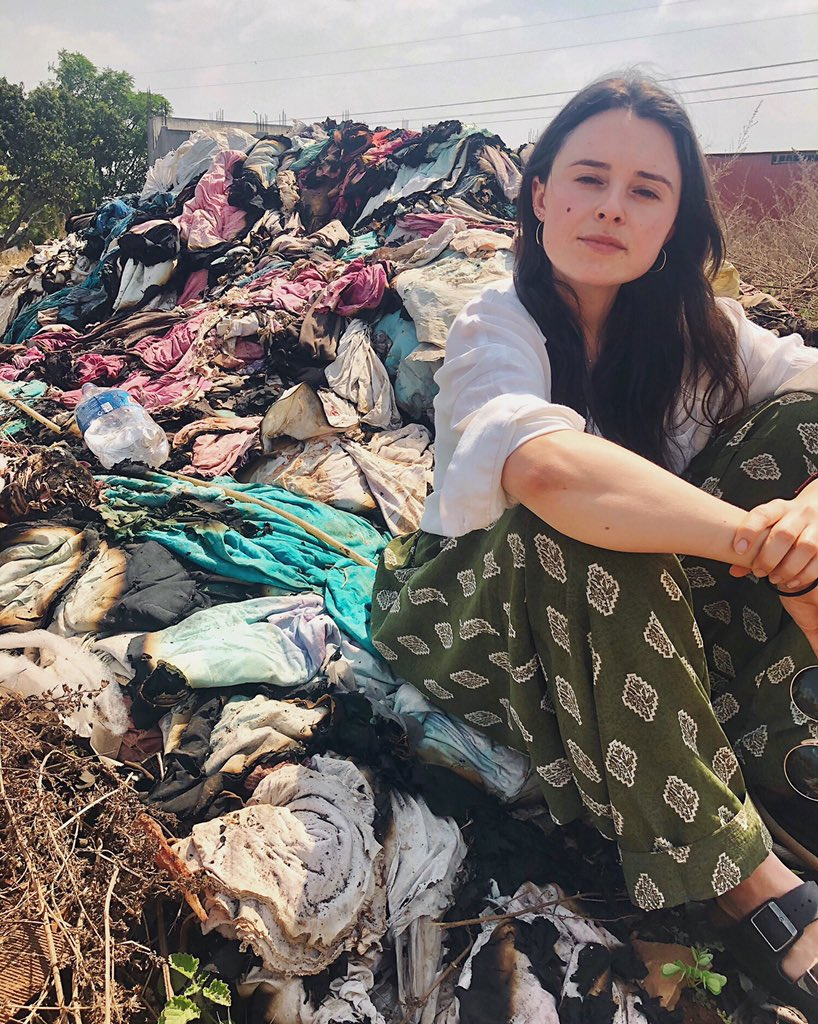 It's time we valued our clothes♻️🌎#NothingToLandfill