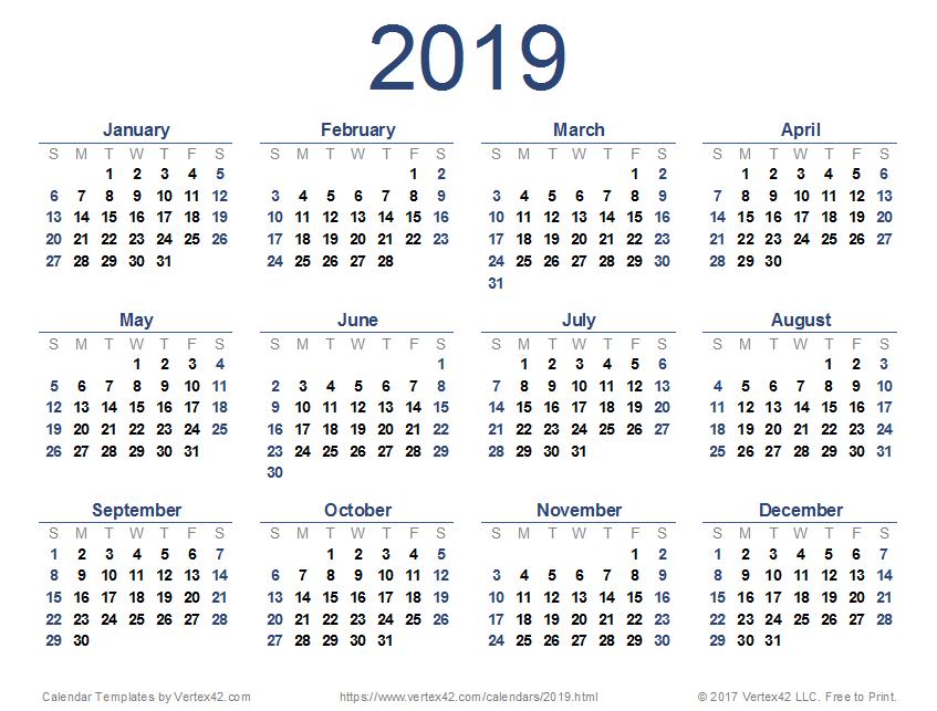 2013 To 2019 Calendar nat🧚🏻 on Twitter: