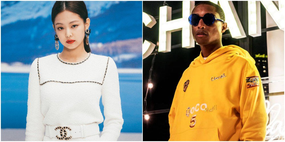29a5c1b30 pharrell williams and blackpink s jennie reportedly performing together at  chanel event