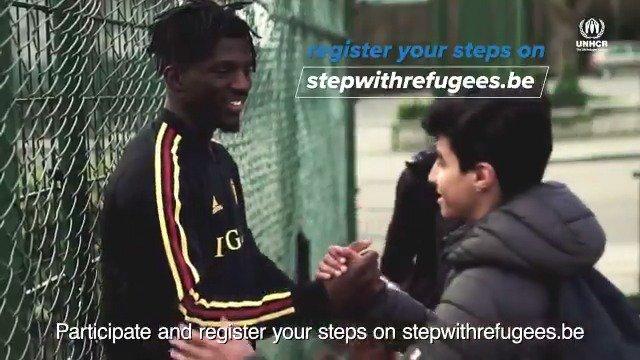 Loop, wandel of fiets je? Registreer dan net als onze @belredflames, @belreddevils en U21 jouw kilometers. Zo toon je samen met @UNHCRbelgie jouw solidariteit voor vluchtelingen.  👉 http://www.stepwithrefugees.be  #StepWithRefugees  #COMONBELGIUM 🇧🇪 #iedereenophetveld