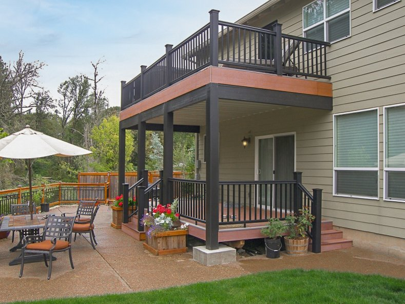 Tnt Builders Inc On Twitter Looking To Create A Dry Space Underneath Your Second Story Deck Check Out This Deck With The Timbertech Dryspace Deck Gutter System Https T Co Zyuptpgdqf Https T Co Y4s8sdn2n3