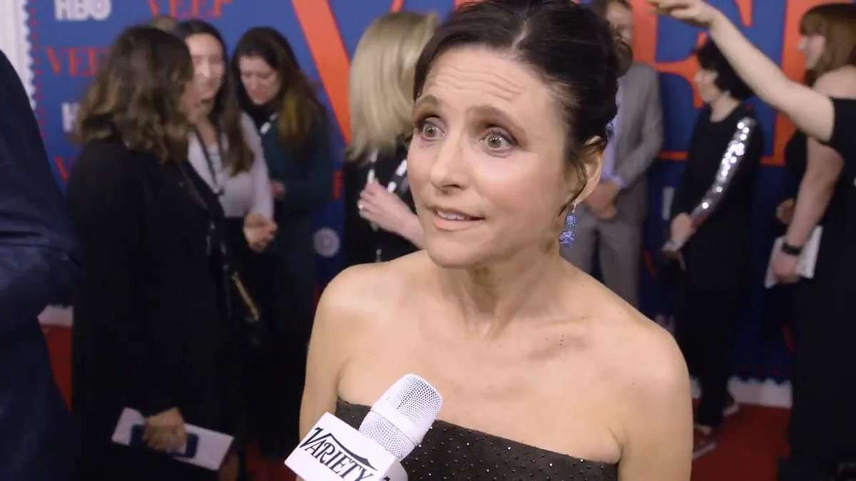 "#VEEP's Julia Louis-Dreyfus says she ""f---ing better"" see a female president in her lifetime"