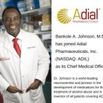 Image for the Tweet beginning: Adial Pharmaceuticals (NASDAQ: ADIL) Announces
