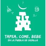 """🥘TAPEA, COME, BEBE EN LA PUEBLA DE CAZALLA🥩  Llega otra edición de la campaña de apoyo a la hostelería y restauración de La Puebla de Cazalla.  Recuerda: """"Tapea, come y bebe"""" en La Puebla de Cazalla.  #tapeacomebebe2019"""