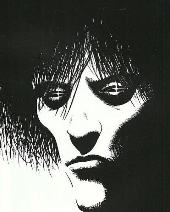 The Sandman, by Bryan Talbot, from the Glasgow Comics Art
