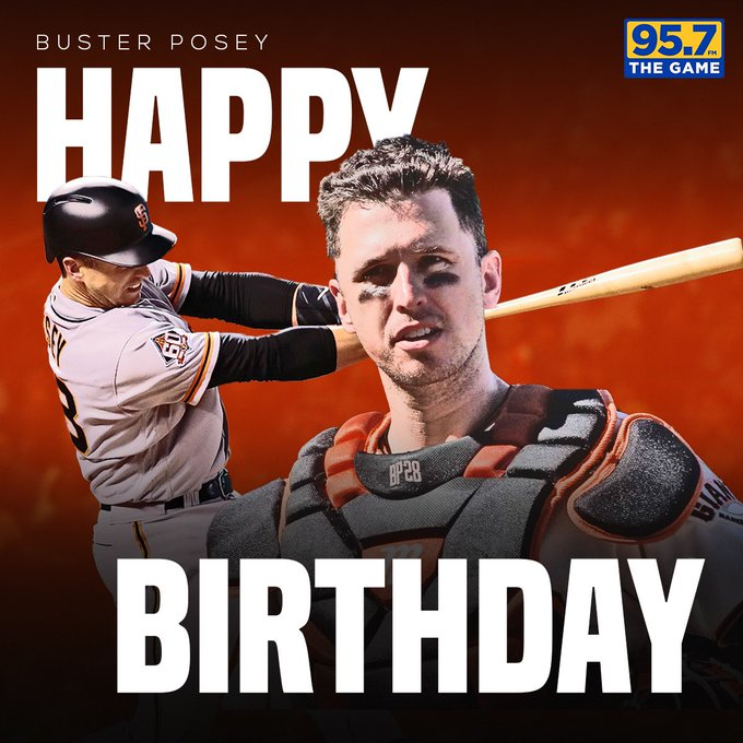 Happy Birthday to Buster Posey