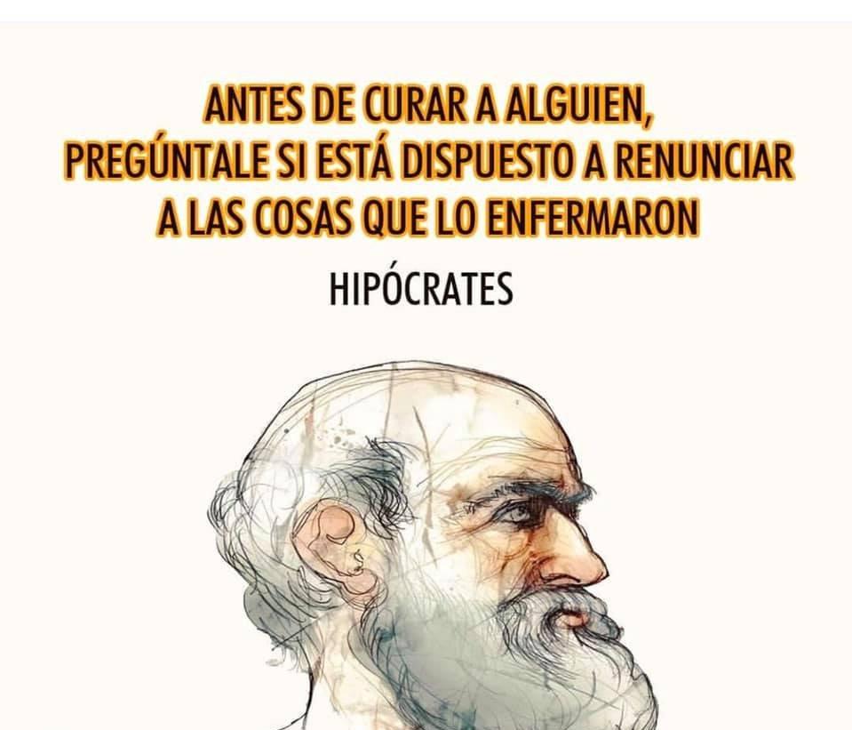 Dr Alberto Blázquez в Twitter Frase Hipócrates Vía