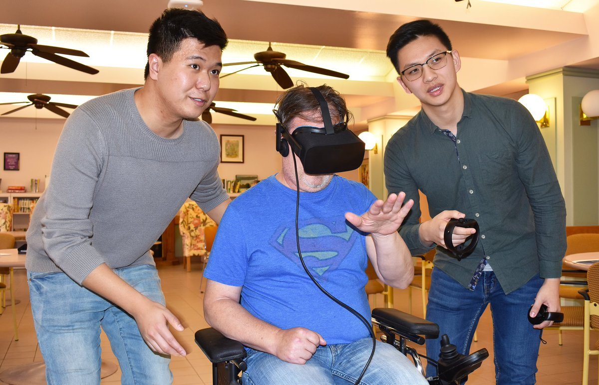 test Twitter Media - Providence Manor is the first long-term care home in Kingston to bring in virtual reality. With endless possibilities, there's no limit to what sorts of adventures our residents will have. Click the link and learn more: https://t.co/lIBUJEjTuc #VirtualReality #longtermcare #ygk https://t.co/f7LHioiAD0