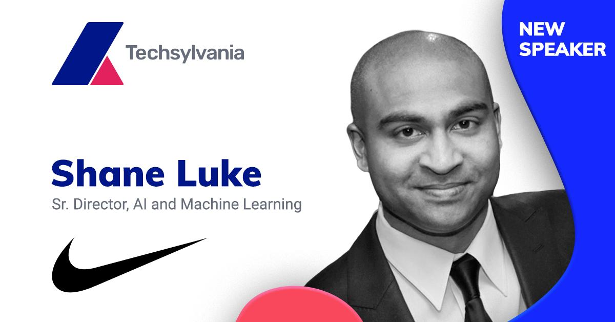 "sector dramático Ingenieria  Uživatel Vlad Ciurca na Twitteru: ""The man working at the intersection of  sports and technology for Nike's Digital Innovation group is joining  @techsylvania Shane Luke, Sr. Director, AI & Machine Learning at @"