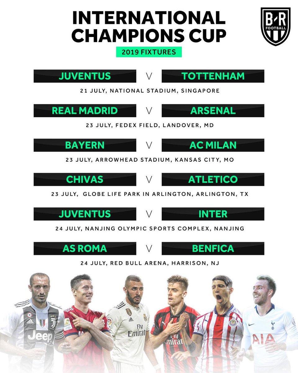 Chivas International Champions Cup Calendario.Calendario International Champions Cup Que Auguran Chivas