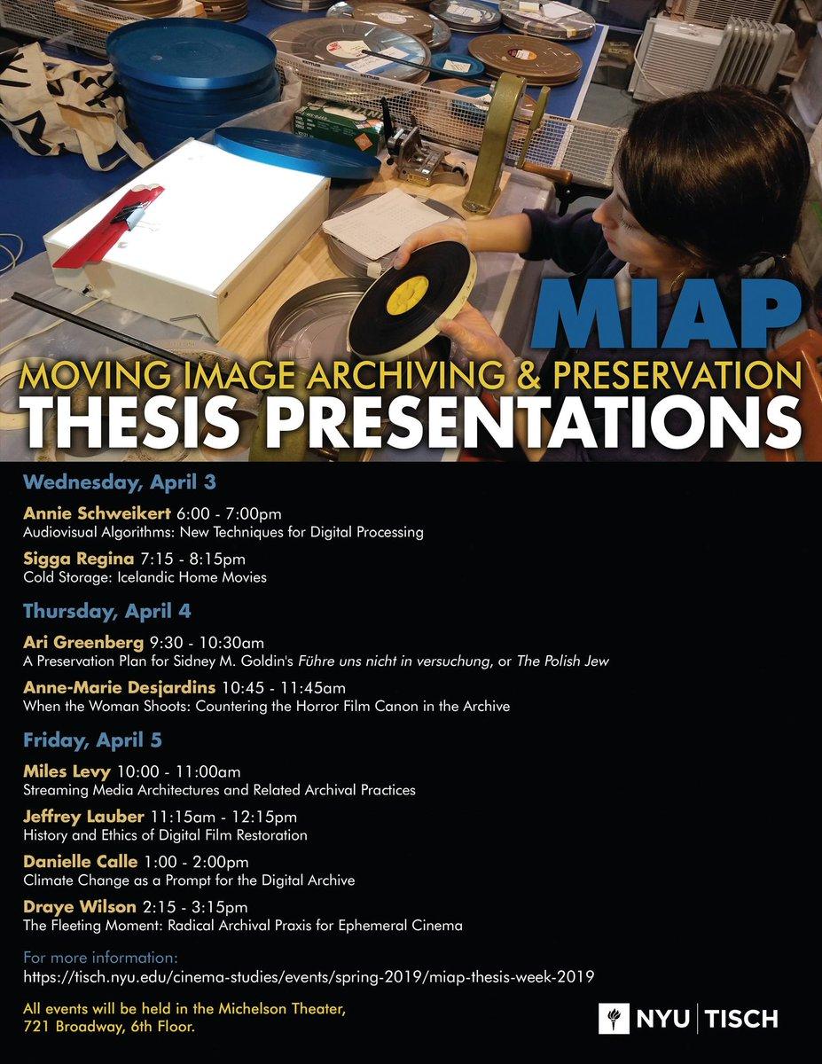 nyu miap thesis