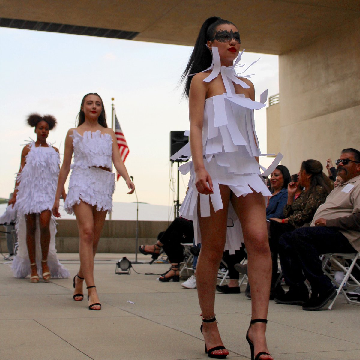 Cal Poly Pomona Aep On Twitter The Fashion Society S Ninth Annual Fashion Show Held Last Week Featured Designs From Students In The Apparel Merchandising Management Program The Production Is Designed For