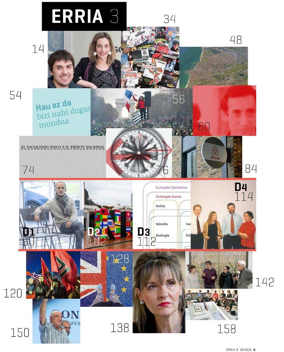 ✔️Sakonean, Nafarroako Aldaketaz ✔️#Jarrai40  ✔️IEH 2040. Biziko al da? ✔️#TxalekoHoriak ✔️#Argala #Txabi Hipotesi estrategikoa ✔️Plataforma kAPPitalismoa ✔️@EHBilduEP , Independentzia nazioartean ✔️Eskuin Muturra Europan ✔️#Brexit  ✔️Ronnie Kasrils ✔️Gomendioak  ✔️...eta gehiago