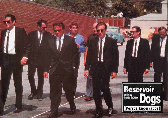 RESERVOIR DOGS is still my favourite Quentin Tarantino film - Happy Birthday, Mr. Brown.