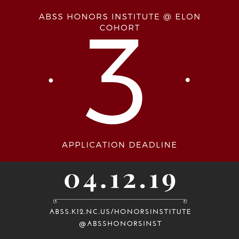 ABSS Honors Inst  on Twitter: