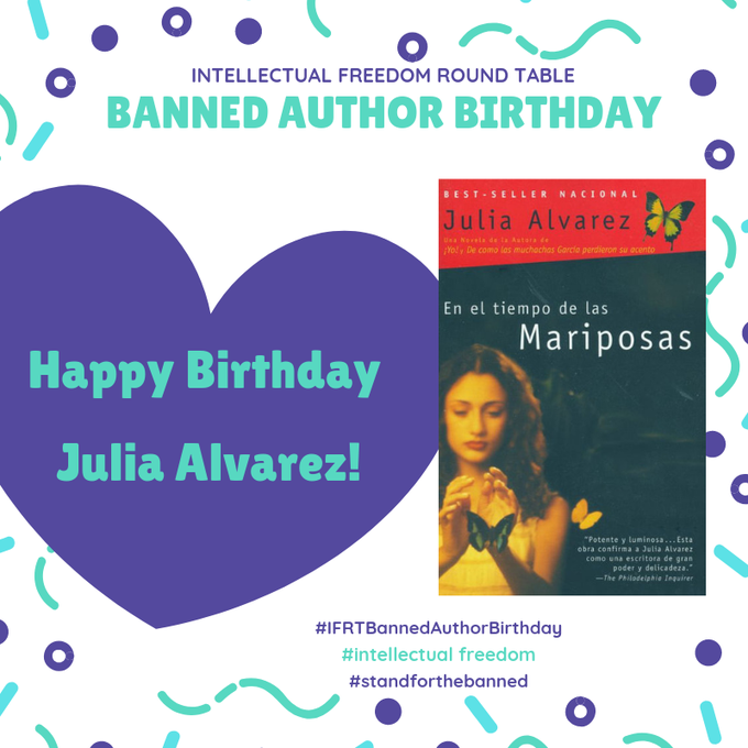 Happy Birthday Julia Alvarez!