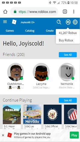 "I'M DOING A 5,000 ROBUX GIVEAWAY! HOW TO ENTER :  - FOLLOW ME @Joyiscold (and enable notifications to know when I post the results)  - LIKE & RT THIS TWEET - TAG 2 PEOPLE - COMMENT ""DONE"" WHEN YOU'RE DONE!  THE GIVEAWAY ENDS ON MAY 29TH, 2019. GOOD LUCK!  #Roblox #RobloxDev"