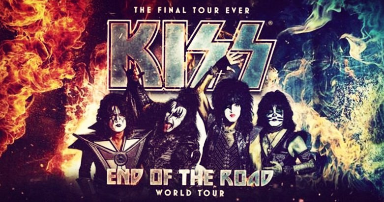 Kiss End of the Road - World Tour Banner