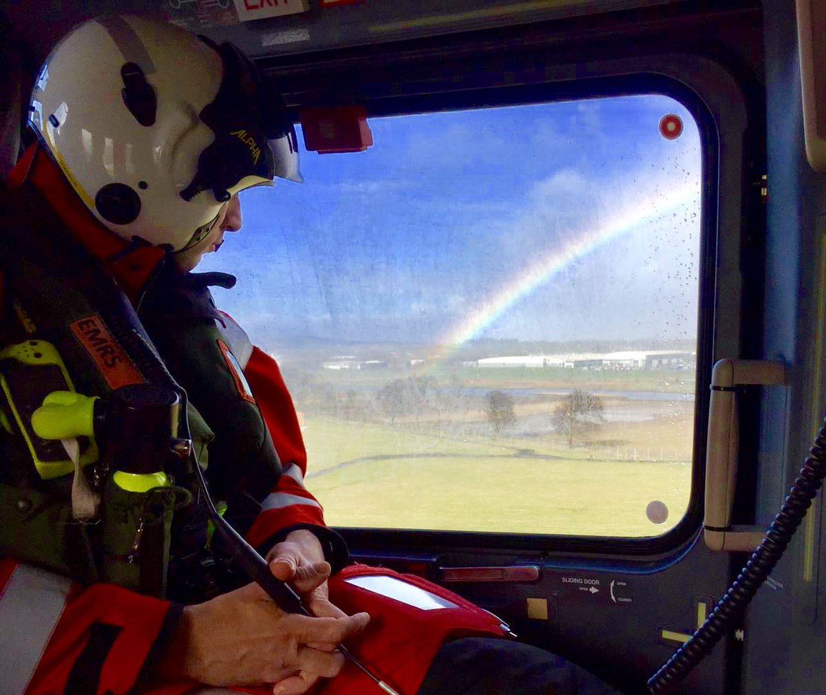 What's that at the end of the rainbow...?  Better than a pot of gold, it's the @JubileeHospital Conference Centre - but alas we can't magic up more seats, and we're now starting to approach capacity so don't delay if you want a place!  http://www.emrsscotland.org 🌈  #retrieval2019