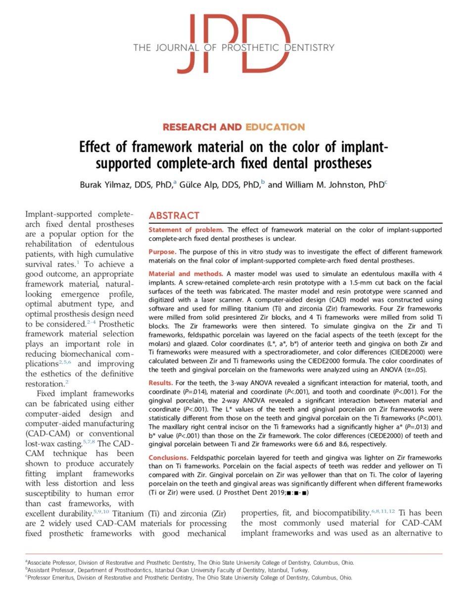 """محمد بن عبدالله الشهري on Twitter: """"Effect of #framework material"""