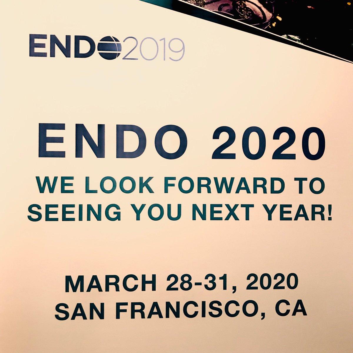 endo2020 hashtag on Twitter