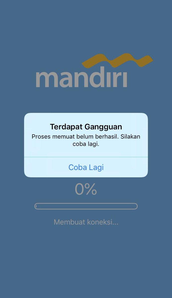 Amanda Dasrul No Twitter Bankmandiri Ini Sampai Kapan Ya Kenapa Apps Mandiri Online Yang Baru Ini Sering Banget Error Sih