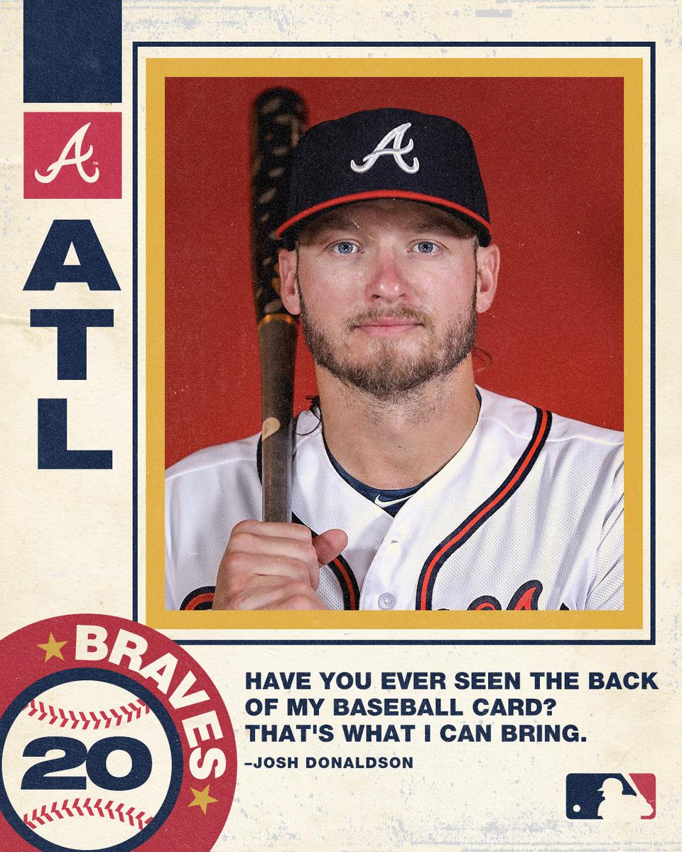 Mlb On Twitter Lets Look At The Back Of His Baseball Card