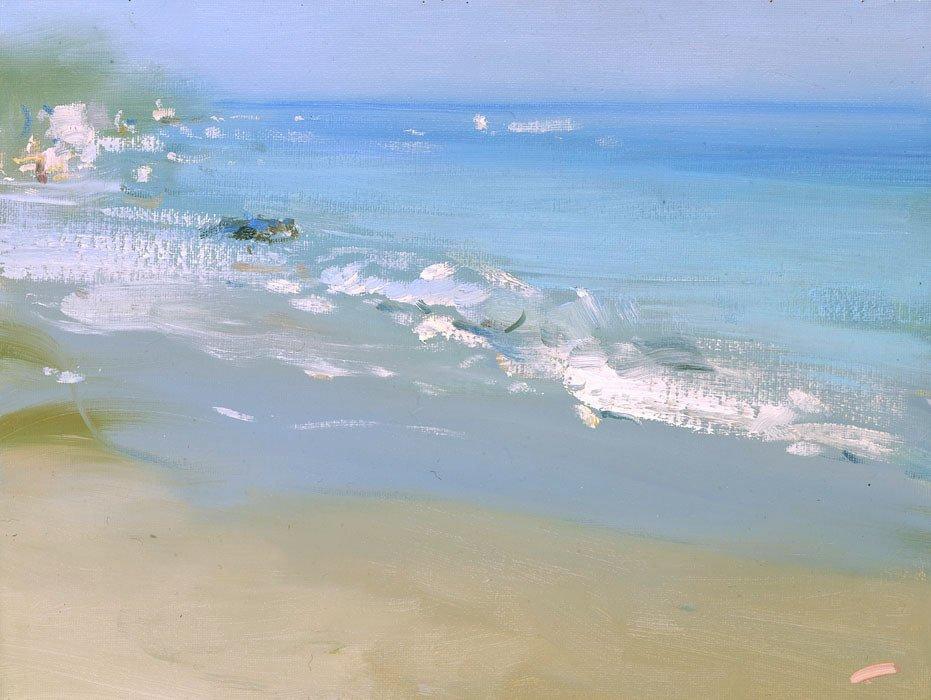 Russian painter Bato Dugarzhapov