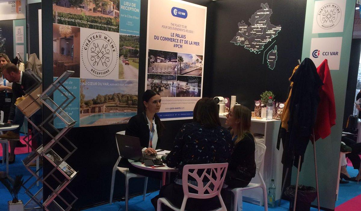 Vous cherchez un espace événementiel en #Provence, Rencontrez-nous au #HeaventMeetings 🌴, salon du tourisme d'affaires et de l'événementiel au  @CannesPalais, 📍Stand K25 #pcmevents. Infos et réservation : ➡ http://bit.ly/pcmevents