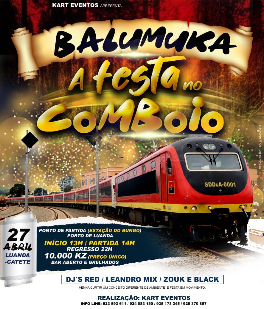 Balumuka no comboio