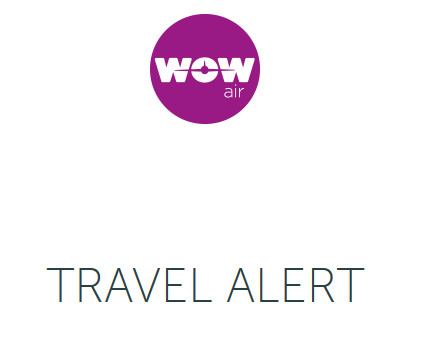 WOW: Ultra low-cost carrier @wow_air ceases operations in middle-of-night announcement. All flights now canceled.   Info for the #airline's passengers: https://bit.ly/2CJEU3g