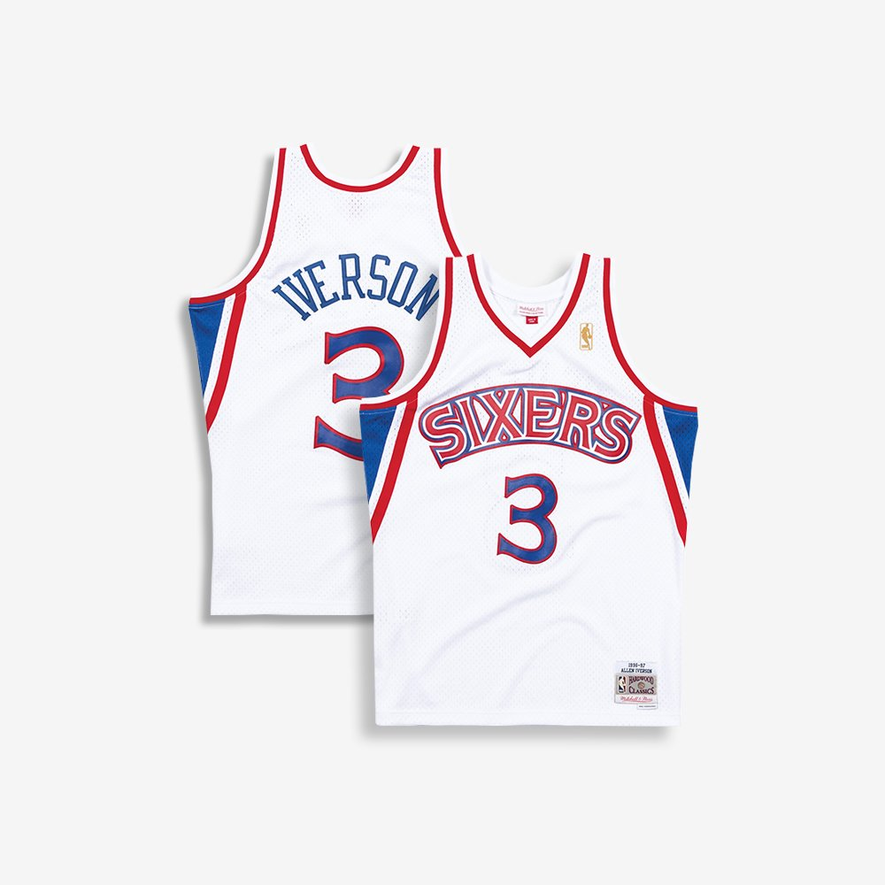 d1cc0925115 ... the sixers. He went on to win rookie of the year and was a member of  the NBA All-Rookie First Team. Tag an Iverson fan in the  comments!pic.twitter.com  ...