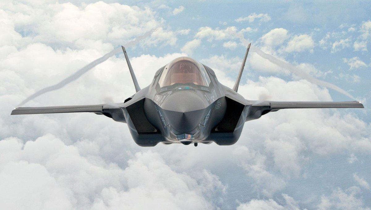 بريطانيا تتعاقد على مضاعفة مشترياتها من المقاتلات الأمريكية F-35 D2ucKREWoAEnChy