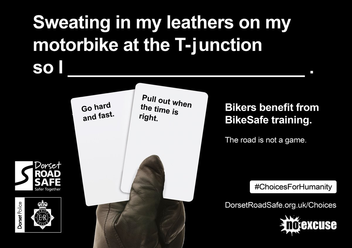 New #ChoicesForHumanity campaign launched to promote road users making  better choices Check out some of the materials below and find out more  about the ...